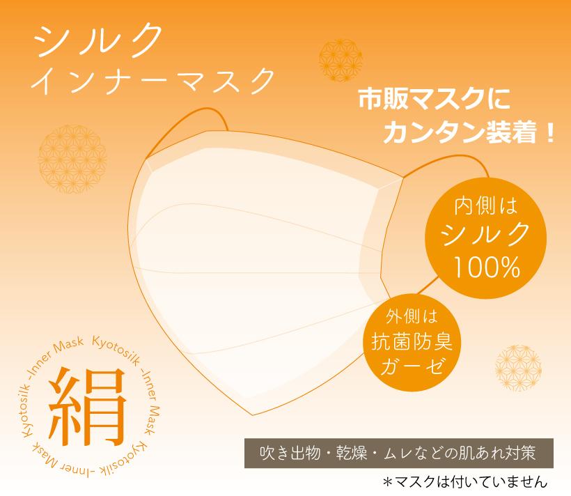 インナー マスク シルク
